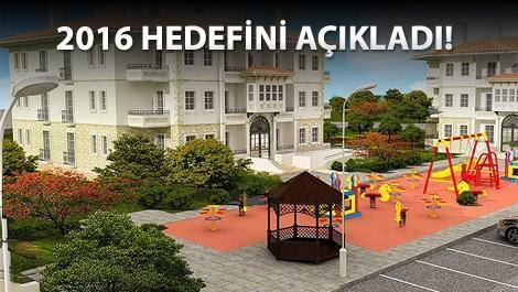 TOKİ Konutlarının önündeki çocuk parkı