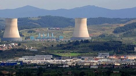bursa doğalgaz santralinin dışarıdan görünümü