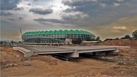 Bursa'da stadyumun açılışı için geri sayım başladı!