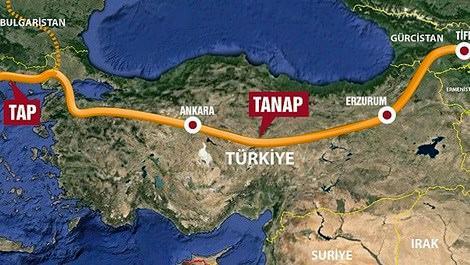 """Türkiye, TANAP'ta kilit öneme sahip oyuncu"""