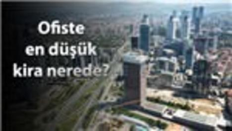 İstanbul'da ofis kiraları azaldı!