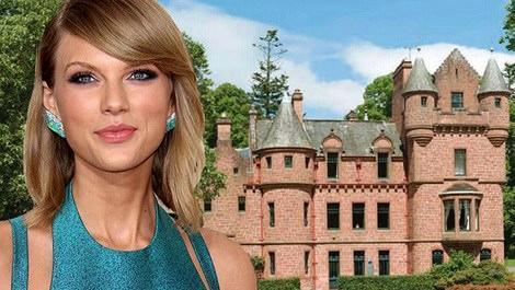 Taylor Swift, şato satın alıyor!