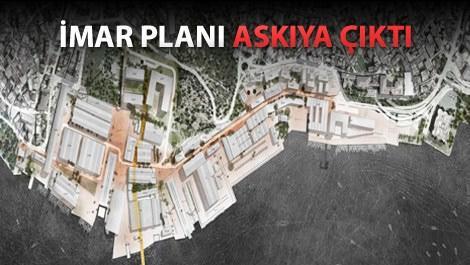 haliçport projesinin master planı