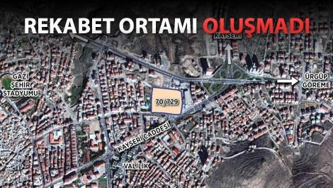 emlak konutun nevşehirde sattığı arsanın uydu görüntüsü