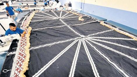 kıl çadırı üretimi