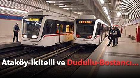 İki önemli metro hattı Eylül'de start alacak!