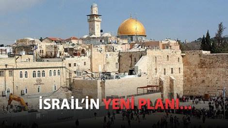 Mescid-i Aksa yakınında sinagog iddiası!