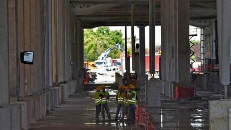 'Yeni Ankara YHT Garı' inşaatında son durum!