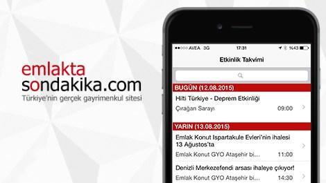 etkinlik takvimi mobil uygulaması