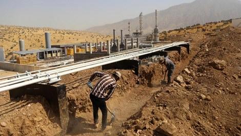 Irak Süleymaniye'de en büyük petrol rafinerisi açılıyor