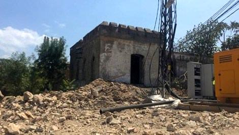 Yassıada'daki inşaat çalışmalarında tarihi manastır yıkıldı!