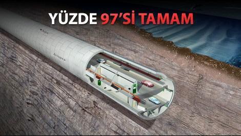avrasya tünelinin deniz tabanındaki konumunu anlatan bir resim