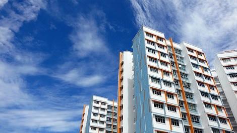 Singapur'da inşa edilen binalar