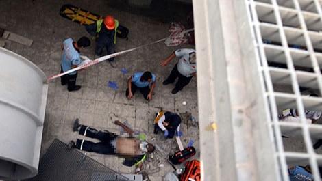 Ankara'da metro inşaatında iş kazası