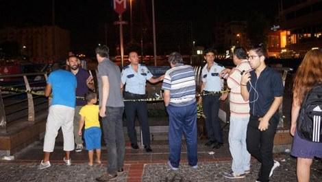Taksim metrosunda panik