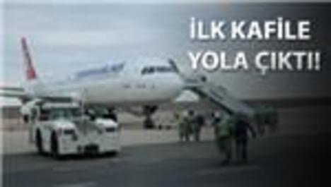 Ordu-Giresun Havalimanı'nda ilk uluslararası uçuş yapıldı