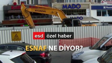 Mecidiyeköy-Mahmutbey metrosunda son durum!