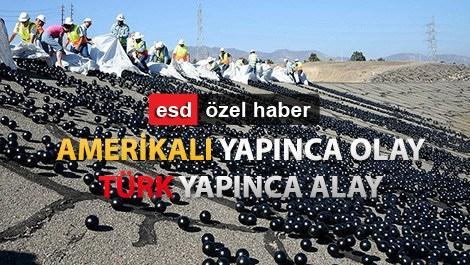 Türk 'gölge topları' susuzlukla savaşacak!
