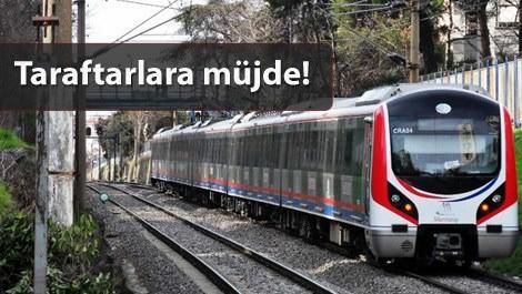 Marmaray ve metro seferleri bugün 02.00'a kadar uzatıldı