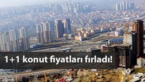 İstanbul'da inşaat halindeki konut inşaatı