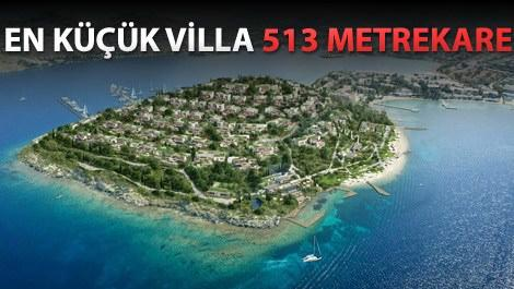 Epique Island, Bodrum Tilkicik Koyu'nda yükseliyor