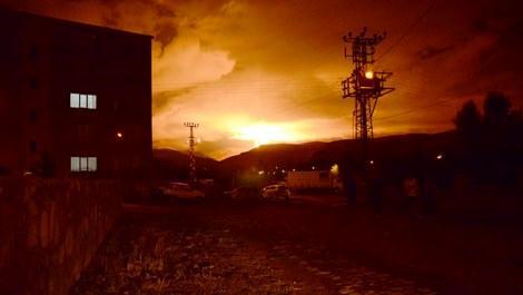 Kars'ta doğalgaz boru hattına terör saldırısı