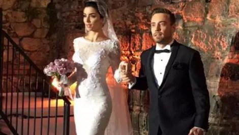 Murat Dalkılıç ve Merve Boluğur düğün töreni