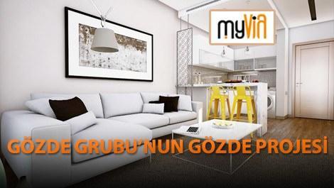 MyVia Wins projesinin örnek dairesinden