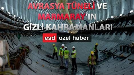 avrasya tüneli kazı çalışmaları