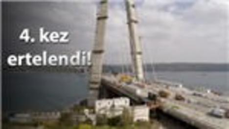3. köprü bağlantı yolları ihalesi için erteleme!