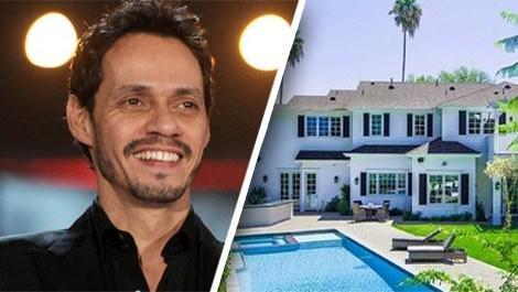 Marc Anthony'nin California'da satılığa çıkardığı ev