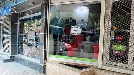 Soma'daki esnaf dükkanları