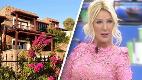 Seda Sayan Bodrum'daki villasını satıyor