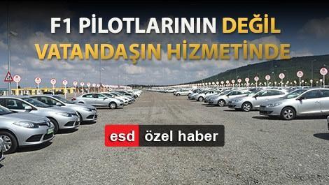 İstanbul Park artık oto pazarı oldu!