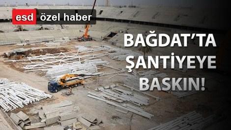 Nurol İnşaat stadının inşaatı