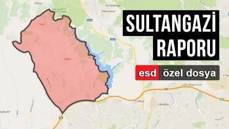 Sultangazi'nin haritadaki yeri