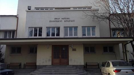 Ankara Üniversitesi Ziraat Fakültesinin binası