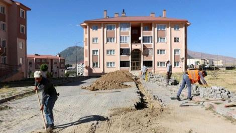 Bitlis'teki TOKİ konutlarına doğalgaz müjdesi!