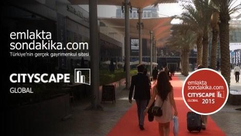 Dubai Cityscape 2015 fuar alanı