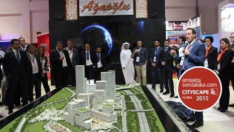 Ağaoğlu Şirketler Grubu, Finans Merkezi'ni Cityscape'de tanıttı