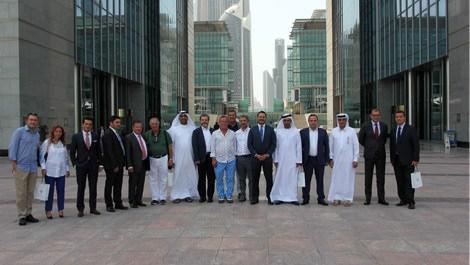 Ağaoğlu Şirketler Grubu, Dubai Finans Merkezi'ni ziyaret etti