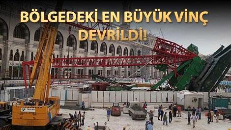 Mekke'deki vinç kazasının izleri ortaya çıktı!