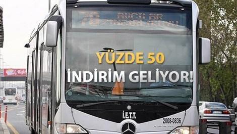 İstanbul'da toplu ulaşıma bayram indirimi!