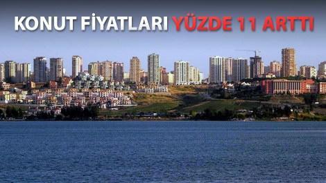 Ağustos'ta konut fiyatları en çok Adana'da yükseldi!