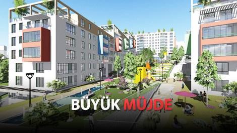 İstanbul'a TOKİ'den 547, Emlak Konut'tan 250 konut!