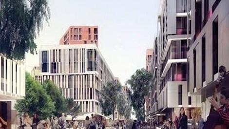Ege Yapı Kağıthane projesinin sosyal alanları