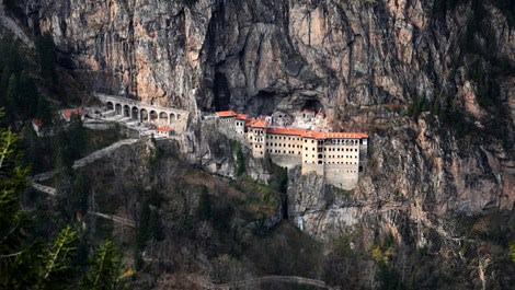 Sümela Manastırı restore ediliyor!