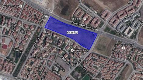 Ankara'da satılık 65.6 milyon liralık arsa!