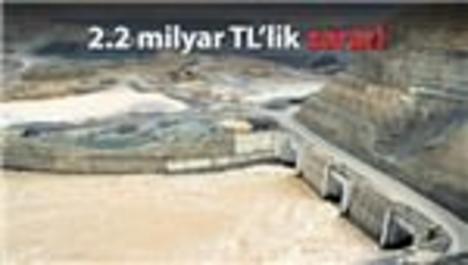 Ilısu Barajı terör yüzünden 2 yıl gecikecek!