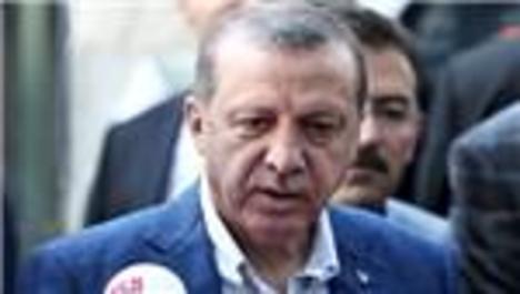 Erdoğan, bayram namazını Emirgan'daki camide kıldı